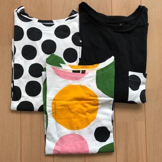UNIQLO - ユニクロ マリメッコ コラボTシャツ 3枚セット