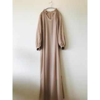 JEANASIS - JEANASIS  袖刺繍 シアーワンピース 新品未使用