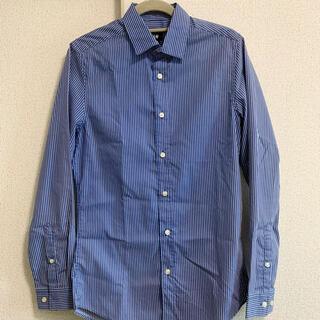 H&M - ストライプシャツ★H&M★メンズ★XS★ワイシャツ・ドレスシャツ