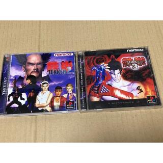 プレイステーション(PlayStation)のPS1 鉄拳セット(家庭用ゲームソフト)