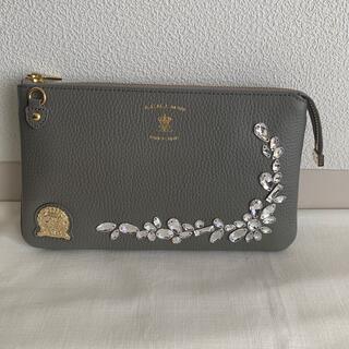 エーディーエムジェイ(A.D.M.J.)のADMJ スワロフスキー ウォレットポーチ ショルダー バッグ 財布(ショルダーバッグ)