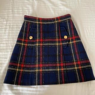 miumiu - miumiu バージンウールスカート 38サイズ
