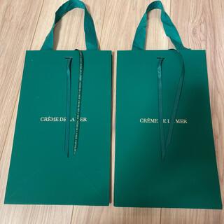 ドゥラメール(DE LA MER)の新品 ドゥラメール ショッパー ショップ袋 限定 リボン ポーチ(ショップ袋)