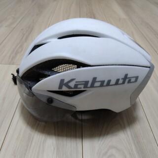 オージーケー(OGK)のOGK kabuto aero R1 ヘルメット ホワイト シールド付き(その他)