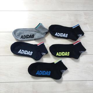 アディダス(adidas)の新品 adidas 靴下 19cm〜(靴下/タイツ)