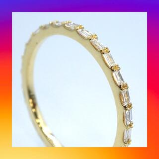 K18 イエローゴールド ダイヤモンド フルエタニティーリング(リング(指輪))