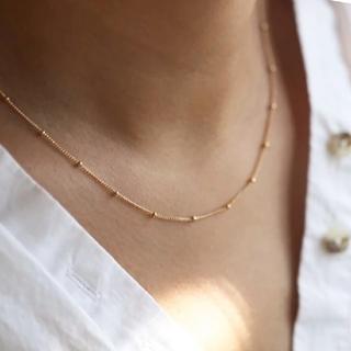 Ameri VINTAGE - 【再入荷】dot chain necklace ◆ 在庫1点