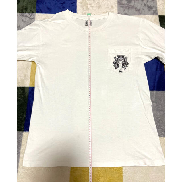 Chrome Hearts(クロムハーツ)のクロムハーツ ロンt ヴィンテージ 90s アメリカ製 サイズL メンズのトップス(Tシャツ/カットソー(七分/長袖))の商品写真