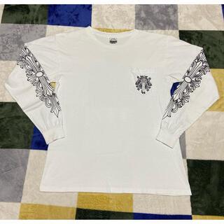 クロムハーツ(Chrome Hearts)のクロムハーツ ロンt ヴィンテージ 90s アメリカ製 サイズL(Tシャツ/カットソー(七分/長袖))