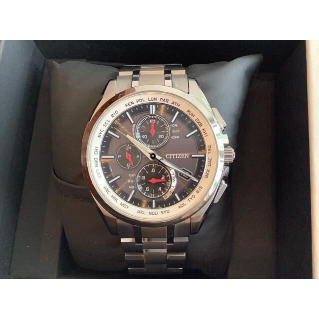 CITIZEN(シチズン)のCITIZEN エコドライブ クオーツ AT8040-57F-J  箱付き美品 メンズの時計(腕時計(アナログ))の商品写真