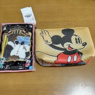 ミッキーマウス(ミッキーマウス)のディズニー ミッキーマウス  ソフトポーチ コレクションタオル 2点セット(ポーチ)