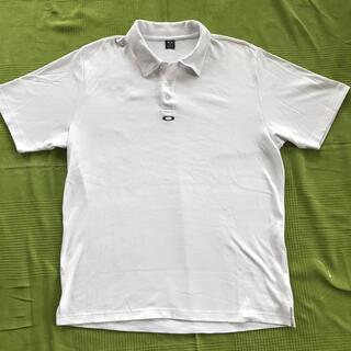 Oakley - OAKLEY ゴルフシャツ オークリー 白