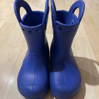 クロックス(crocs)のクロックス 長靴 レインブーツ 15.5センチ(長靴/レインシューズ)