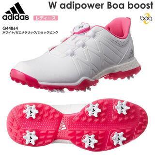 アディダス(adidas)の新品 アディダス ゴルフシューズ アディパワー ブースト ボア レディース(シューズ)