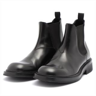 プラダ(PRADA)のプラダ  レザー 7 ブラック メンズ ブーツ(ブーツ)