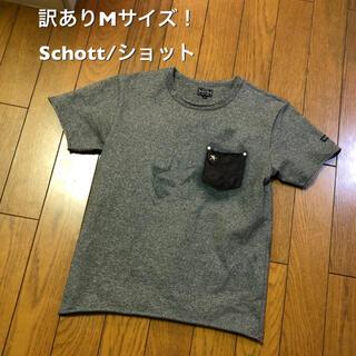 ショット(schott)の訳ありMサイズ!Schott/ショット #3163030 (Tシャツ/カットソー(半袖/袖なし))