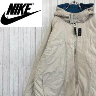 ナイキ(NIKE)のNIKE ナイキ 中綿 ジップアップジャケット フーディー ボーイズ XL(ブルゾン)