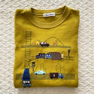 familiar - familiar ♡ ファミリア 長袖 Tシャツ カットソー 車 男の子