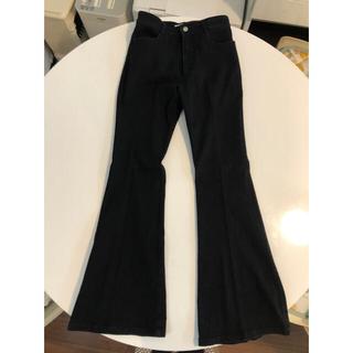 SLY - SLY フレアパンツ ブラック サイズ2