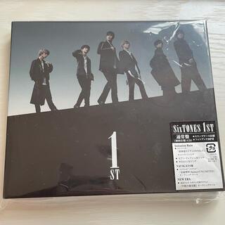 Johnny's - SixTONES  1ST  通常盤(初回仕様)