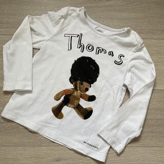 バーバリー(BURBERRY)のバーバリーチルドレン 長袖カットソー サイズ2y(Tシャツ/カットソー)