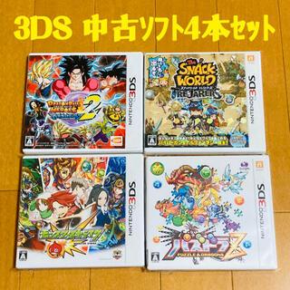 ニンテンドー3DS(ニンテンドー3DS)の【お買得】3DS用中古ソフト 4本セット(携帯用ゲームソフト)