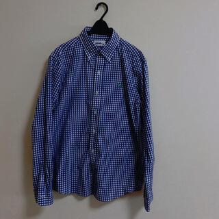 ギンガムチェックシャツ L(シャツ)
