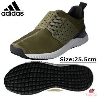 アディダス(adidas)の新品 アディダス ゴルフシューズ スパイクレス メンズ 25.5cm(シューズ)