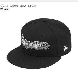 Supreme - Supreme Gonz Logo New Era