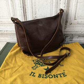 IL BISONTE - イタリア製 IL BISONTE イルビゾンテ バッグ USED