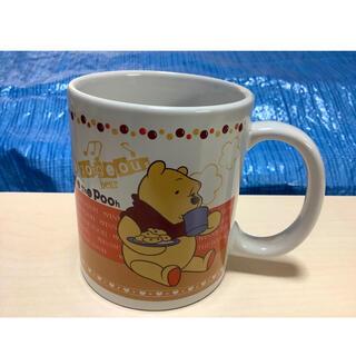 クマノプーサン(くまのプーさん)の【未使用・お値下げ!】くまのプーさん マグカップ ディズニー キャラグッズ(グラス/カップ)