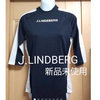 J.LINDEBERG - リンドバーグ レディースゴルフウェア トップス スポーツウェア 七分袖 Tシャツ