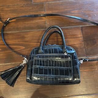 ローズバッド(ROSE BUD)のMARIA CARLA 型押しハンドバッグ(ハンドバッグ)