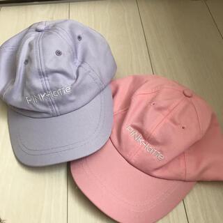ピンクラテ(PINK-latte)のキャップ 帽子 ピンクラテ(帽子)