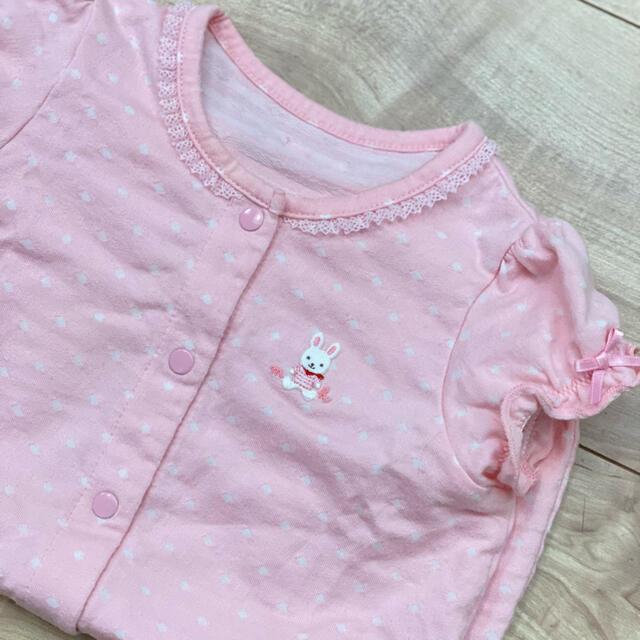 mikihouse(ミキハウス)のミキハウス ロンパース 70 キッズ/ベビー/マタニティのベビー服(~85cm)(ロンパース)の商品写真