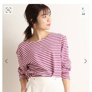 IENA SLOBE - IENA SLOBE  ルミノアボーダーロングTシャツ