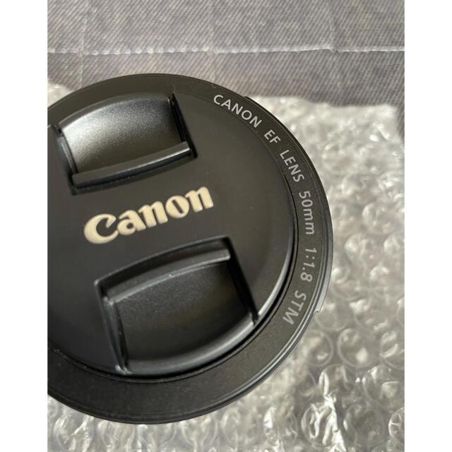 Canon(キヤノン)のCanon/EF50mmf1.8STM,試し撮りのみ スマホ/家電/カメラのカメラ(レンズ(単焦点))の商品写真
