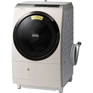 SHARP - ドラム式洗濯機 ビッグドラム  洗剤自動投入 展示品 デモ品 ロゼシャンパン