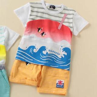 kladskap - 新品3点セット☆ クレードスコープ ボーダー切り替えかき氷Tシャツ&パンツ