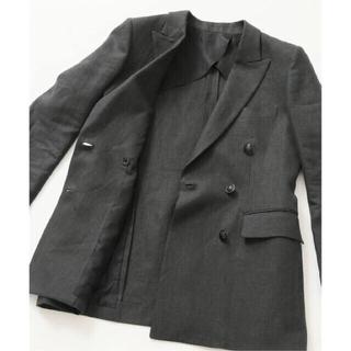 ドゥーズィエムクラス(DEUXIEME CLASSE)の完売 VERMEIL par iena リネン ジャケット ドゥーズィエムクラス(テーラードジャケット)