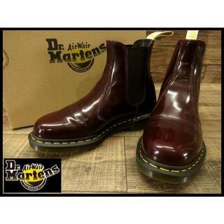 Dr.Martens - 美品 ドクターマーチン チェルシー サイドゴア ブーツ チェリーレッド UK7