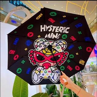 ヒステリックミニ(HYSTERIC MINI)の新品 ヒスミニ 折り畳み傘 日傘(傘)
