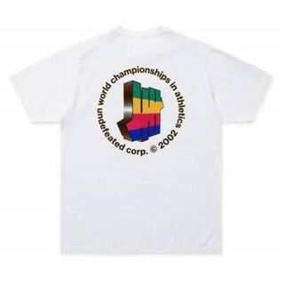 UNDEFEATED ホワイト プリント Tシャツ  メンズ(Tシャツ/カットソー(半袖/袖なし))