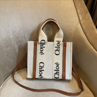 クロエ(Chloe)のChloe クロエ woody トートバッグ Sサイズ(その他)