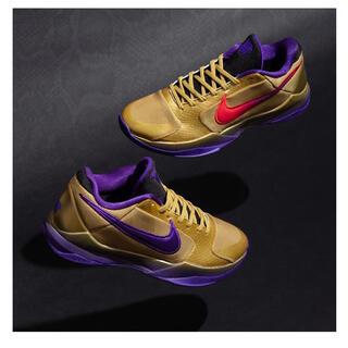 アンディフィーテッド(UNDEFEATED)の27cm☆ Undefeated x Nike Kobe 5 Protro (スニーカー)