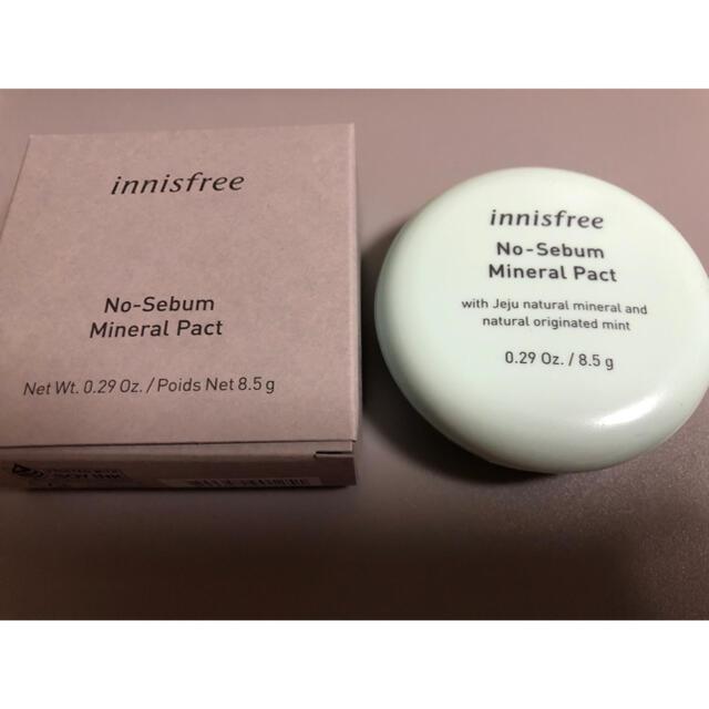 Innisfree(イニスフリー)のイニスフリー ノーセバム ミネラルパクト  コスメ/美容のベースメイク/化粧品(フェイスパウダー)の商品写真