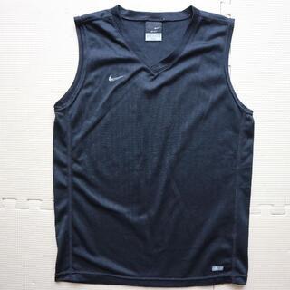 ナイキ(NIKE)のナイキ 140cm ノースリーブTシャツ メッシュ下着 アンダーシャツ 黒(Tシャツ/カットソー)