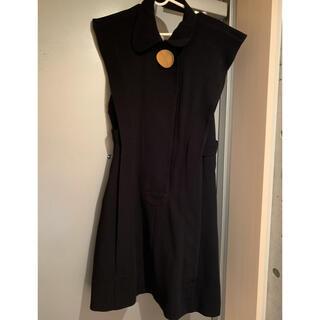 オープニングセレモニー(OPENING CEREMONY)のopening ceremony 背中あきドレス black minidress(ひざ丈ワンピース)