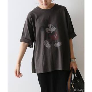 FRAMeWORK - MICKEY Tシャツ グレー