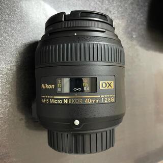 Nikon - 【ほぼ未使用品】Nikon AF-S DX MICRO40F2.8G